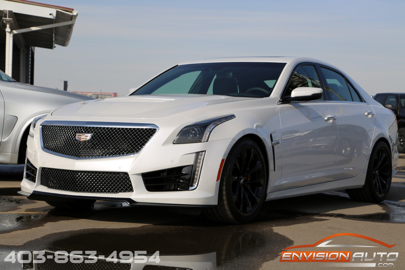 2017 cadillac cts v sedan luxury driver awareness 1 owner envision auto. Black Bedroom Furniture Sets. Home Design Ideas