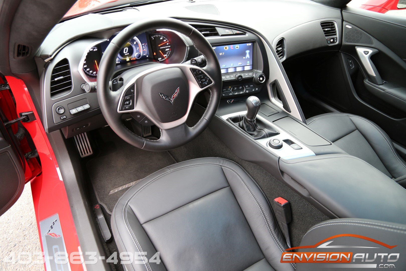 2015 chevrolet corvette stingray 3lt zf1 only 7 100kms gmpp warranty