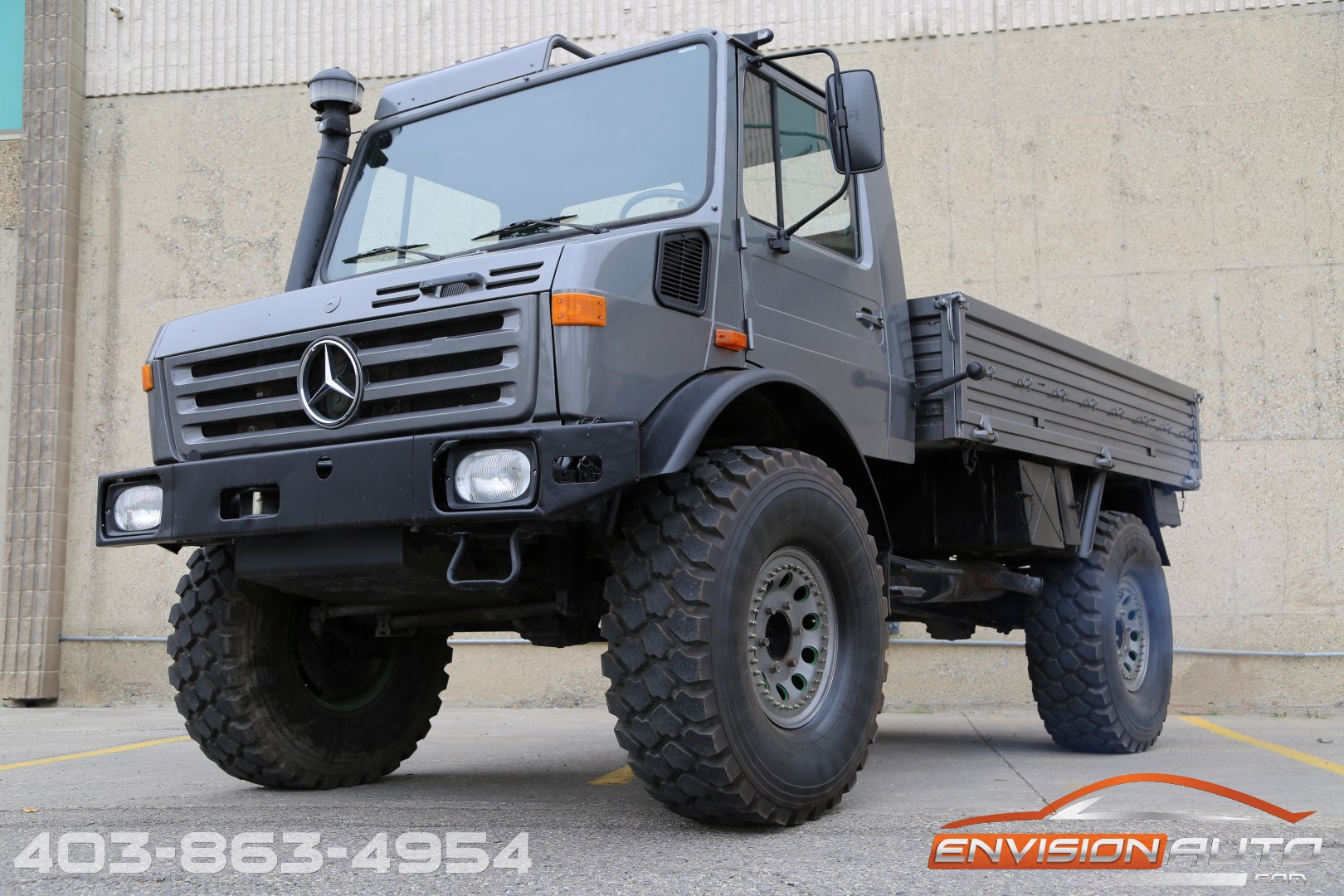 1987 mercedes benz unimog 435 u1300l 4x4 om366a turbo. Black Bedroom Furniture Sets. Home Design Ideas
