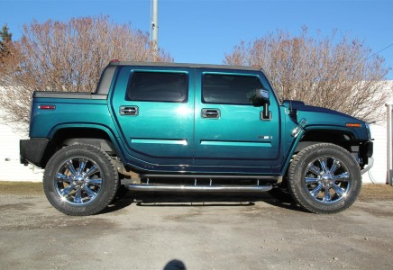 2008 H2 Hummer SUT Ultra Marine Limited Edition - Envision ...