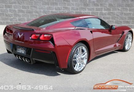 2019 Chevrolet Corvette Stingray Coupe 1lt Brand New