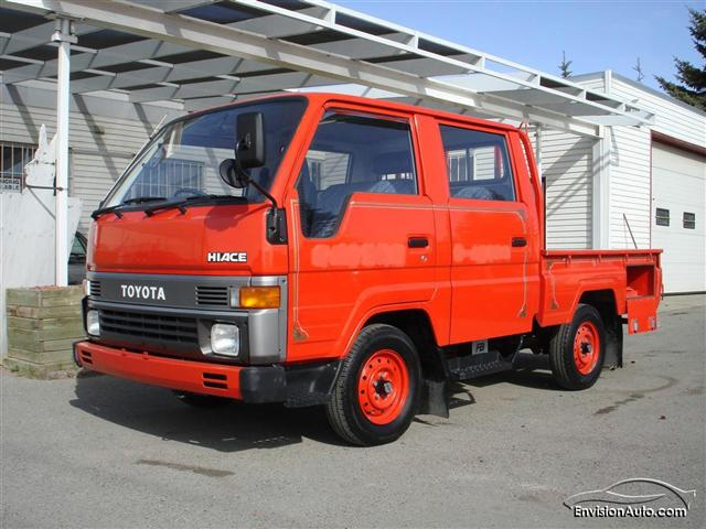 1990 Toyota Hiace Double Cab Fire Truck - Envision Auto