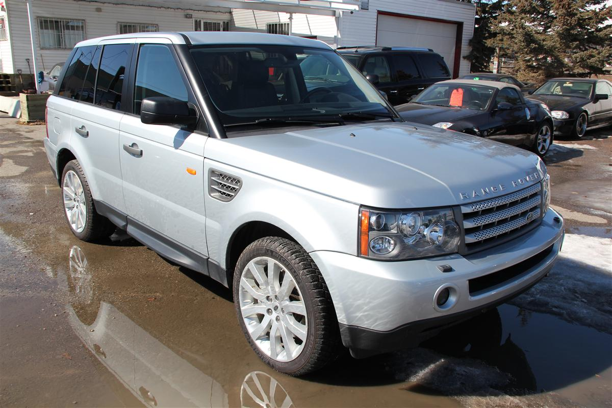 2007 Land Rover Range Rover Sport Supercharged Envision Auto