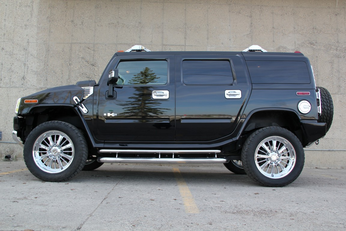 2008 h2 hummer suv chrome custom showtruck envision auto. Black Bedroom Furniture Sets. Home Design Ideas