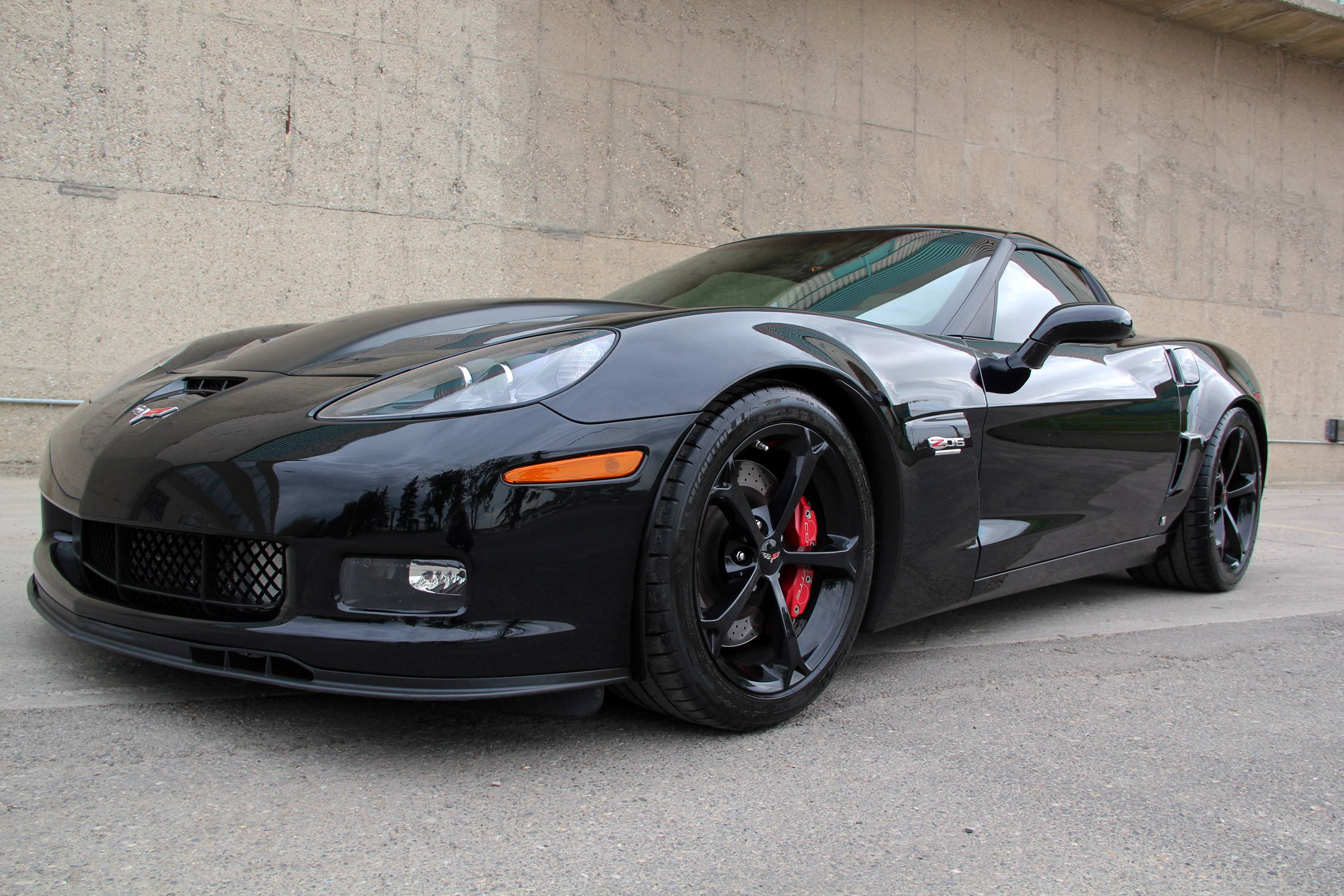 2009 corvette z06 supercharged the beast envision auto. Black Bedroom Furniture Sets. Home Design Ideas