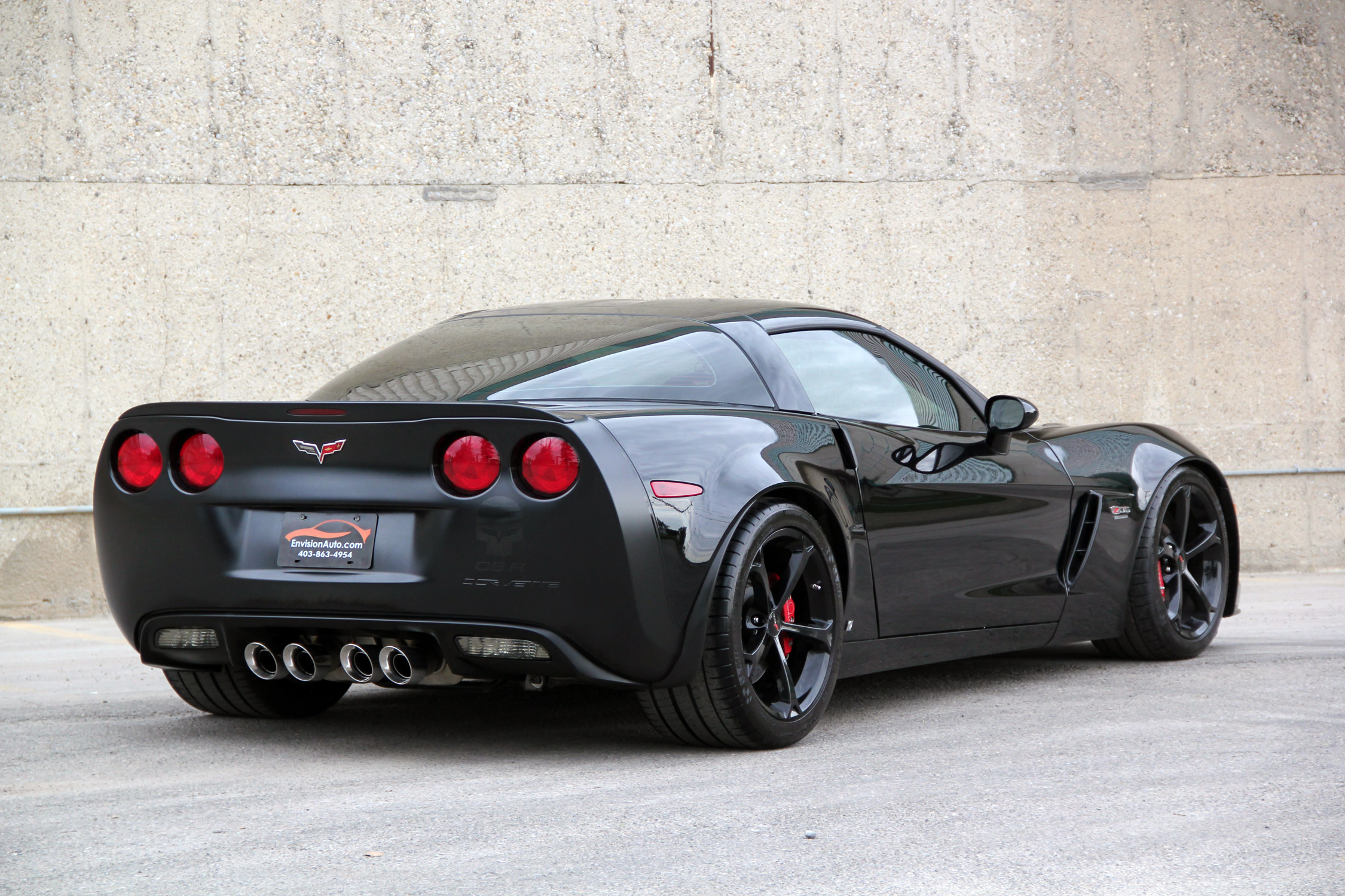 "2009 Corvette Z06 Supercharged – ""The Beast"" - Envision Auto"