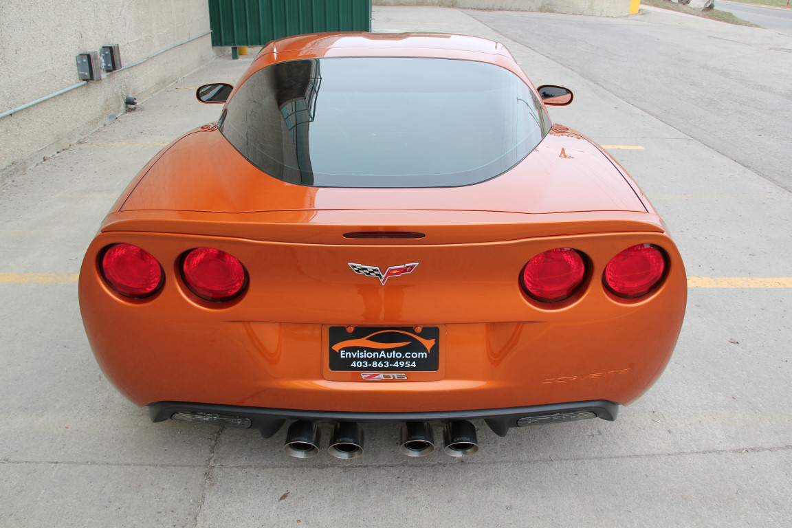 2009 Chevrolet Corvette Z06 – 2LZ – ZR1 Wheels – Headers