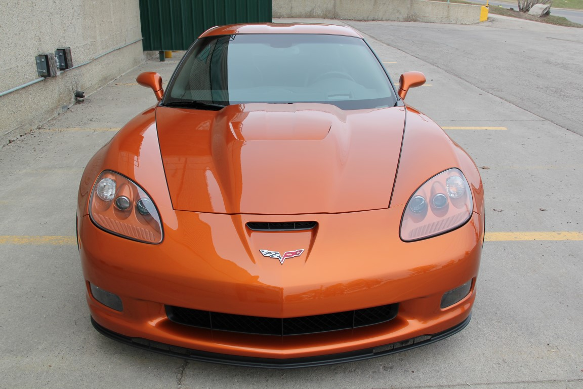 2009 Chevrolet Corvette Z06 – 2LZ – ZR1 Wheels – Headers