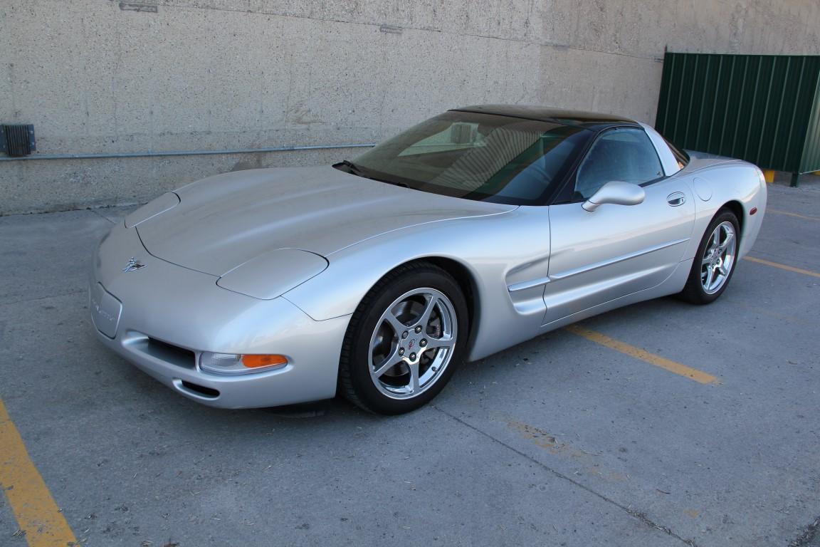 chevrolet corvette coupe  anniversary ed