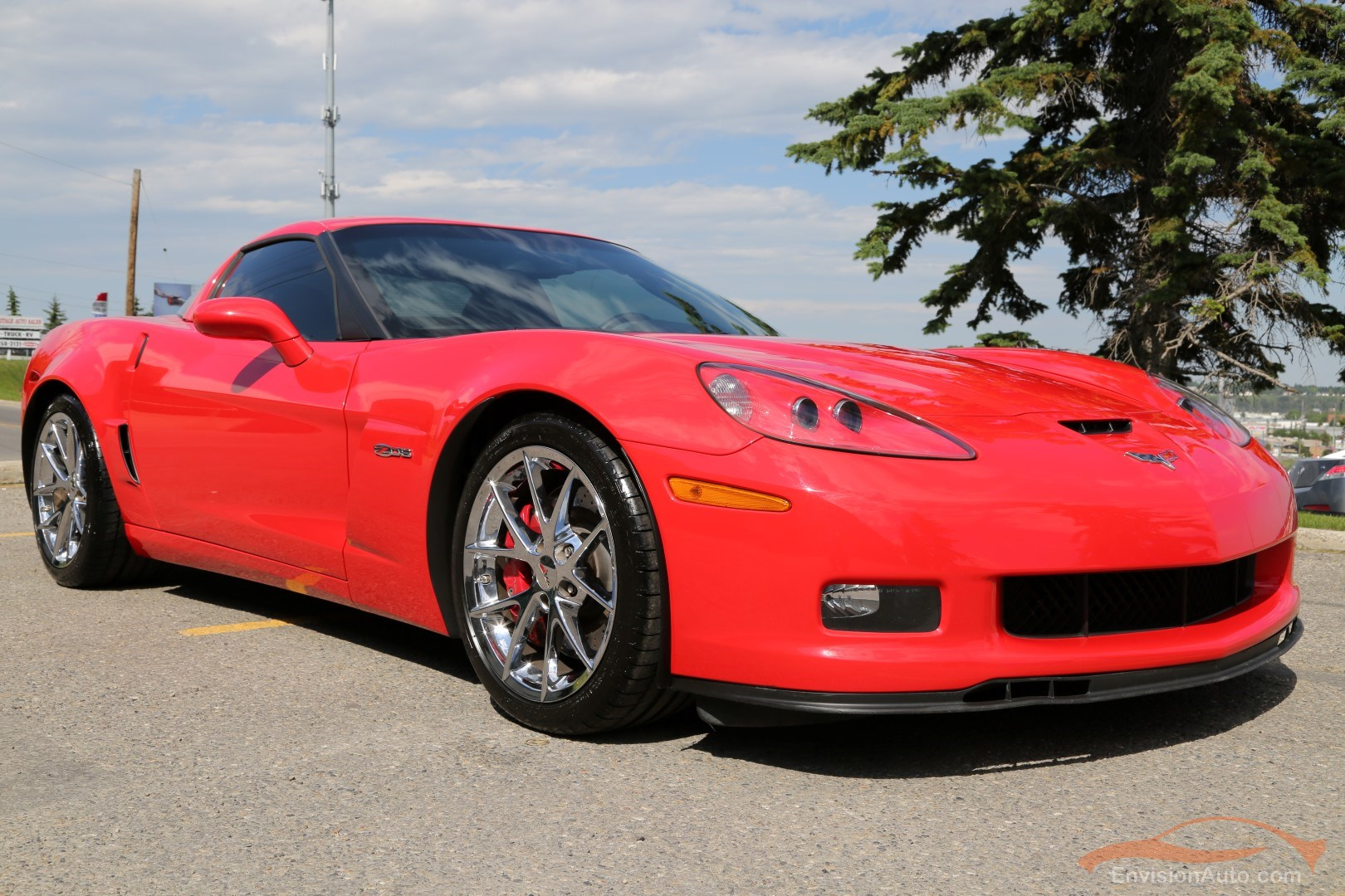 2010 Chevrolet Corvette Z06 3lz Chrome Spider Wheels