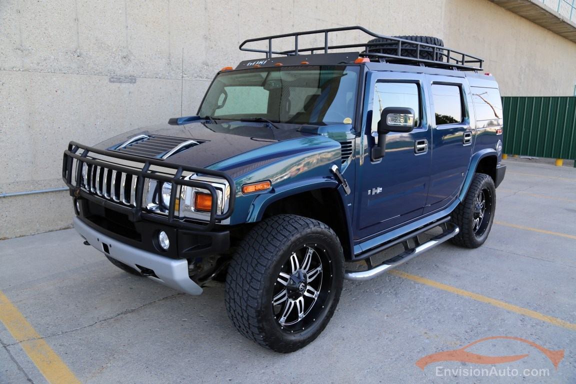2008 H2 Hummer Suv Gobi Rack 22in Fuel Wheels