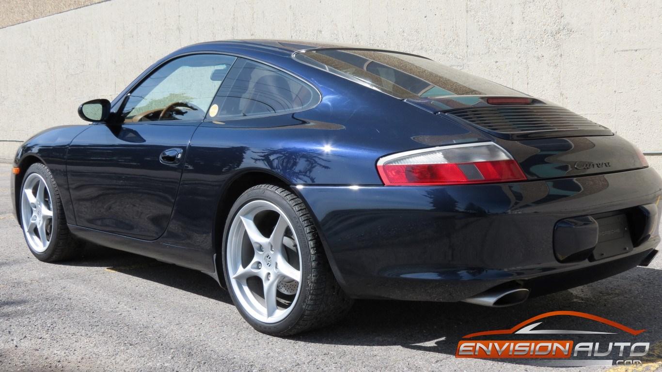2003 Porsche 911 Carrera 2 996 36l 6 Speed Manual