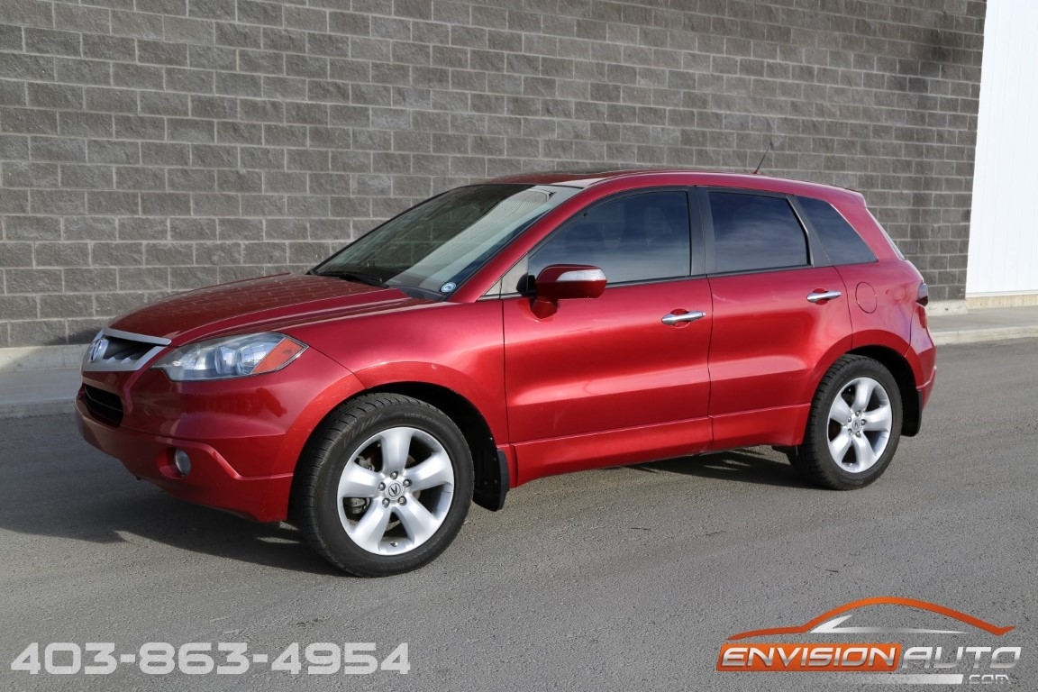 2008 Acura Rdx Awd Technology Package Envision Auto