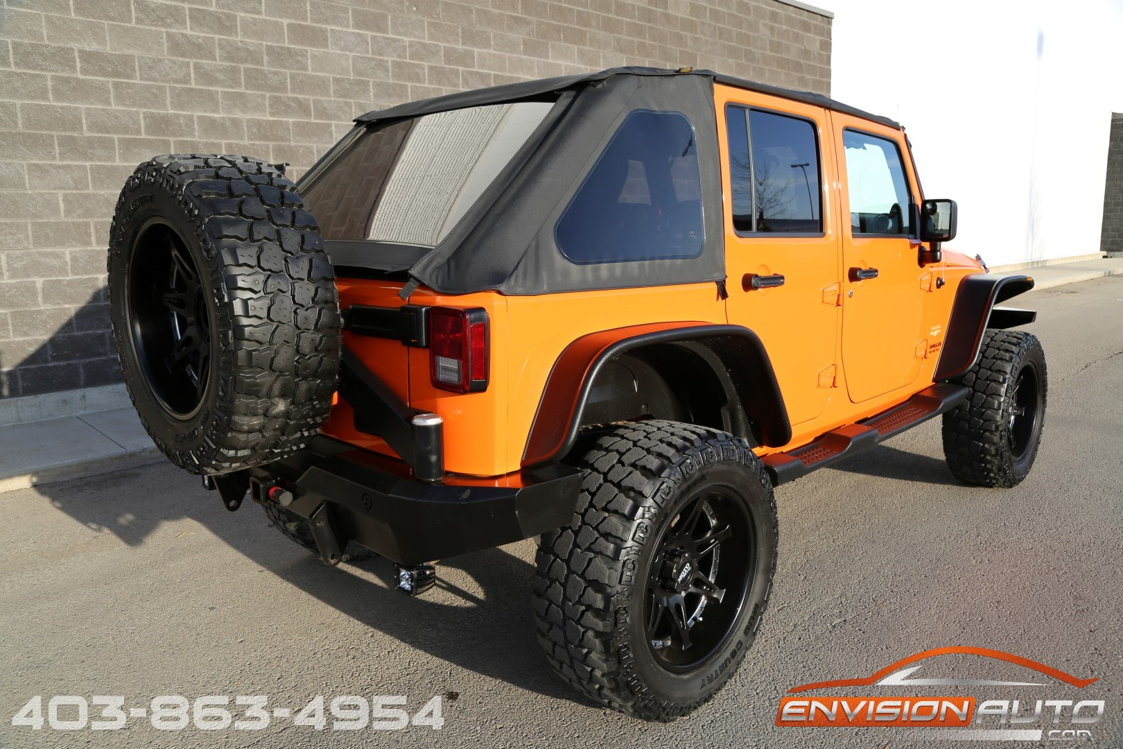 2012 Jeep Wrangler Unlimited Sahara 4 5in Bds Lift