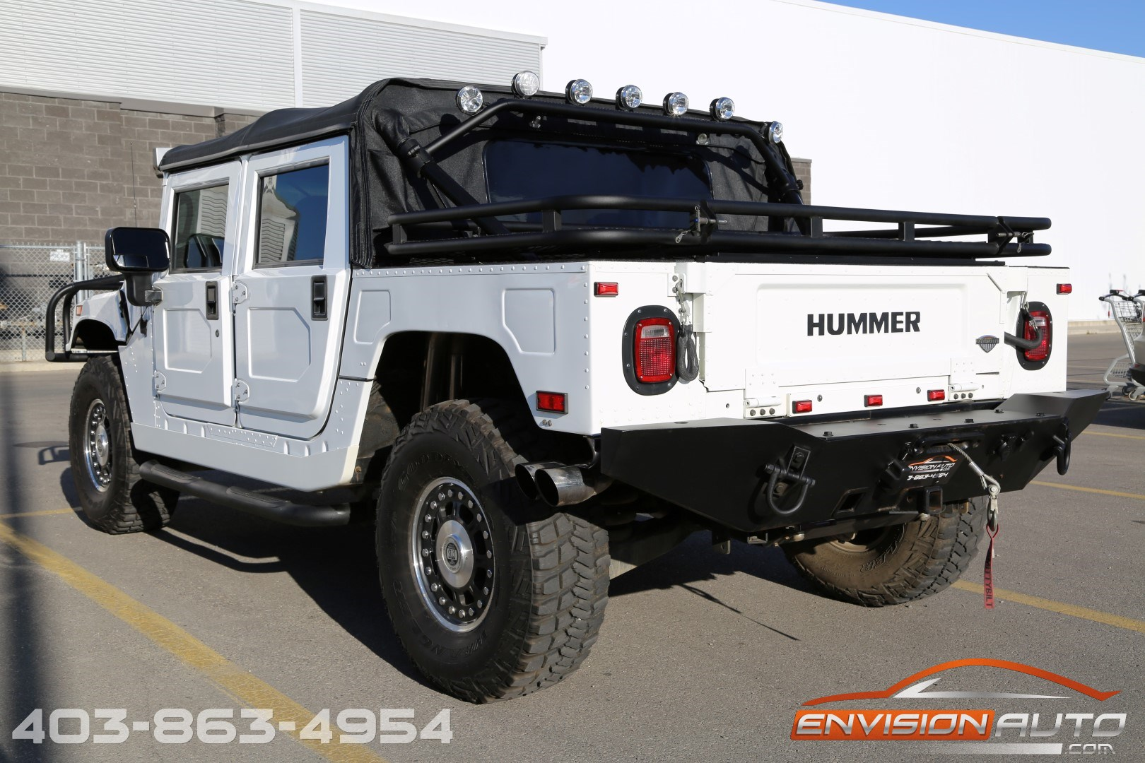2006 h1 hummer alpha open top 6 6l duramax final year envision auto. Black Bedroom Furniture Sets. Home Design Ideas