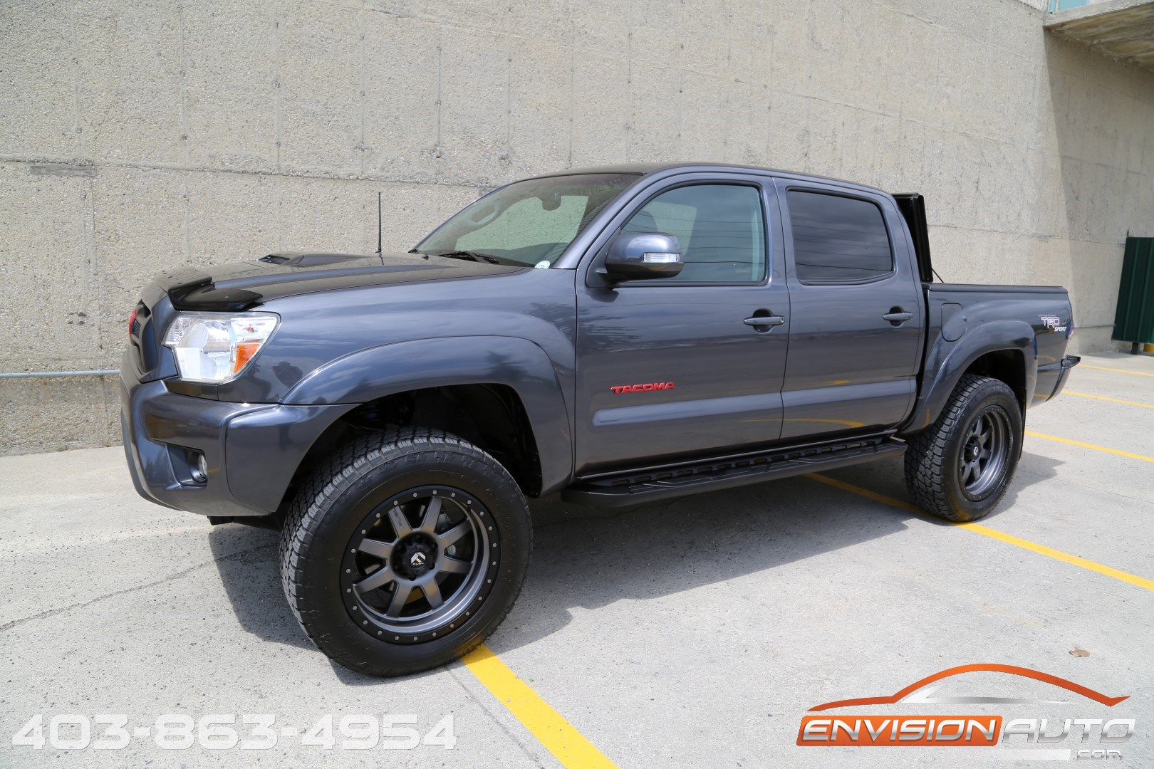 2012 Toyota Tacoma Double Cab Trd Sport 4 215 4 Lifted
