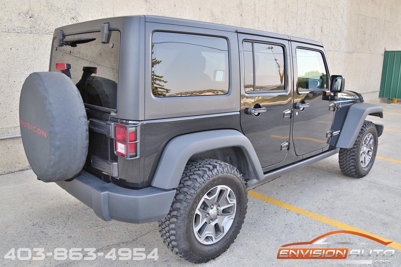 2014 Jeep Wrangler Unlimited Rubicon 4 X 4 6 Speed