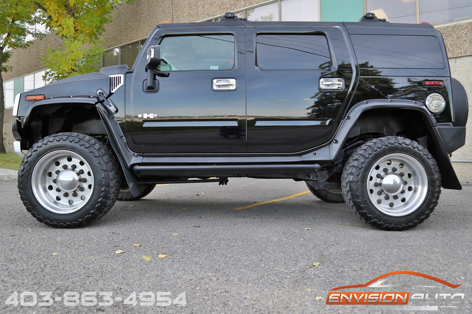 2008 H2 Hummer Suv Huge 6in Lift 37in Tires Flares