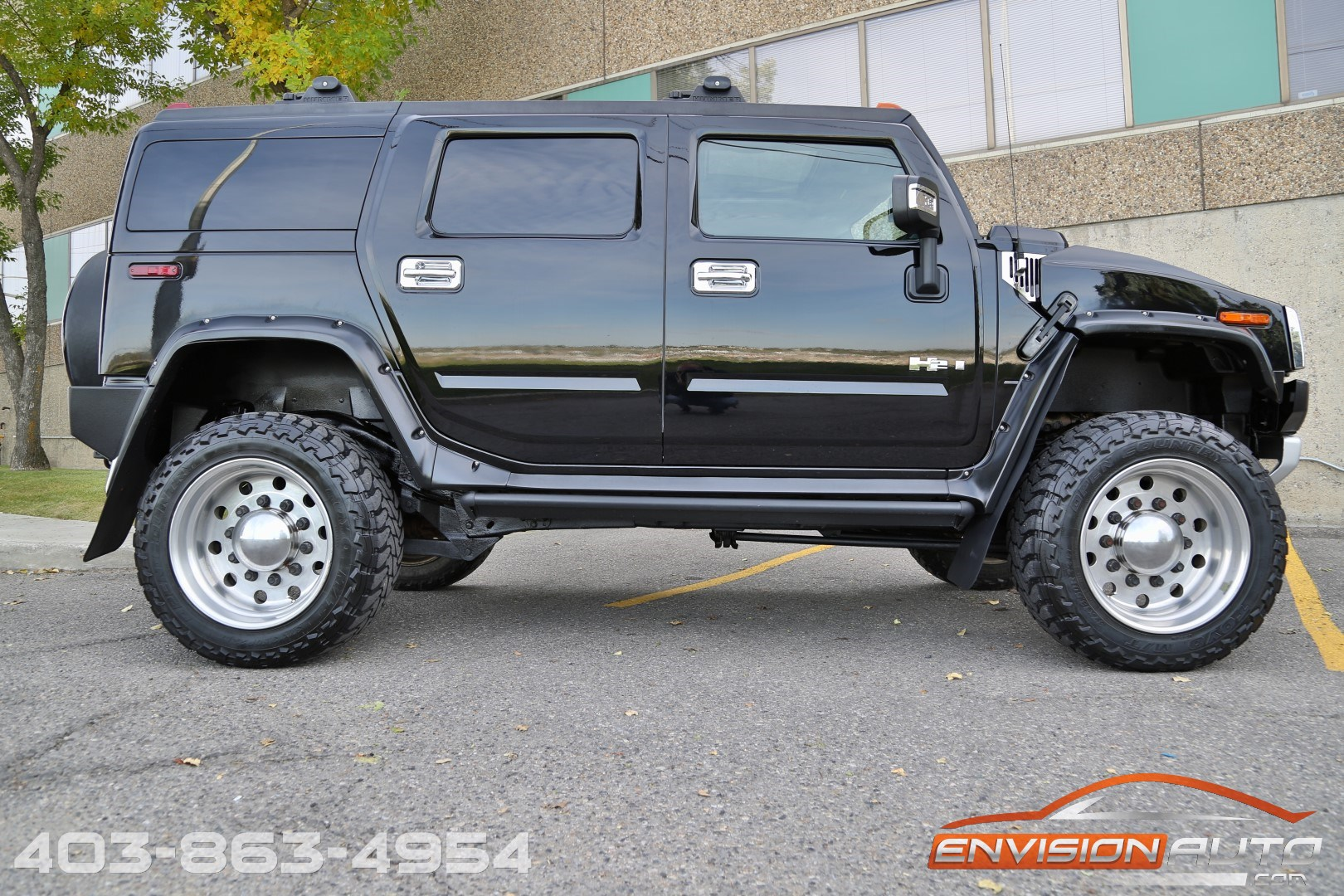 6 Inch Lift Jeep Wrangler >> 2008 H2 Hummer SUV – HUGE 6in Lift – 37in Tires – Flares - Envision Auto