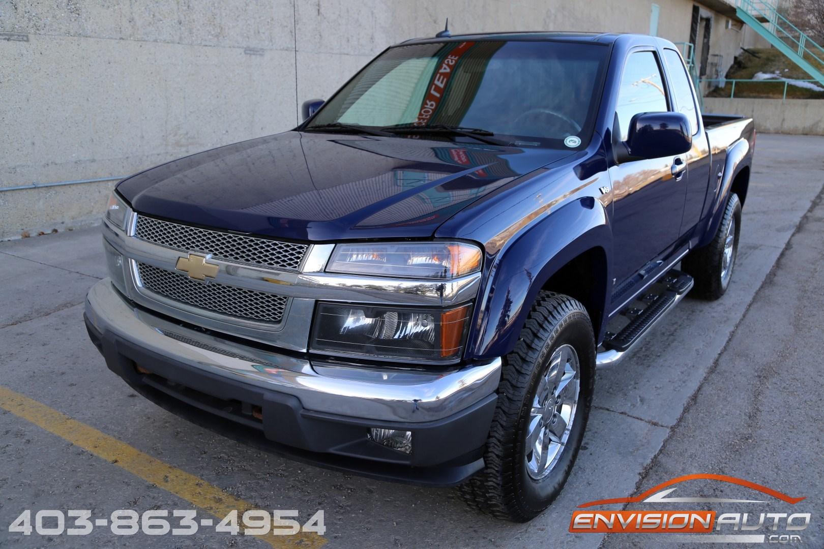 2009 Chevrolet Colorado Lt 4 215 4 Z71 5 3l V8 Envision Auto