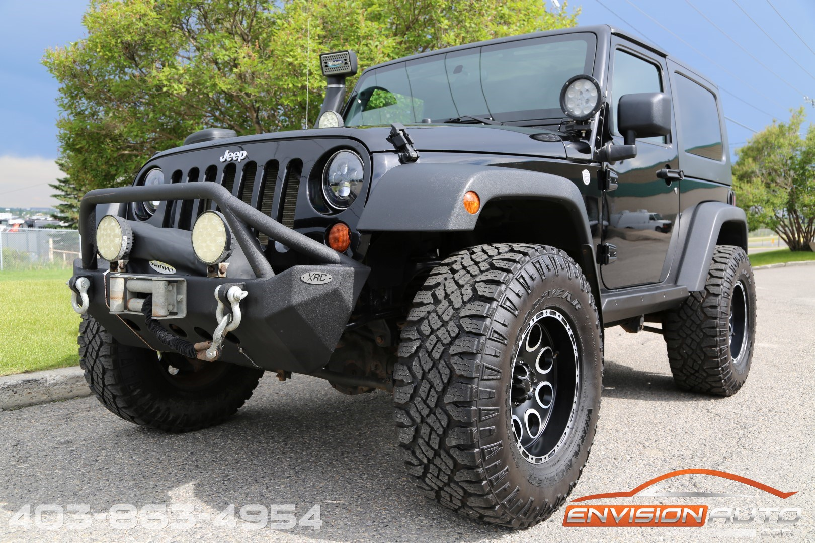 2010 Jeep Wrangler Custom Lift Winch Bumper Led Lights Rear 2008 Vehicle Specification