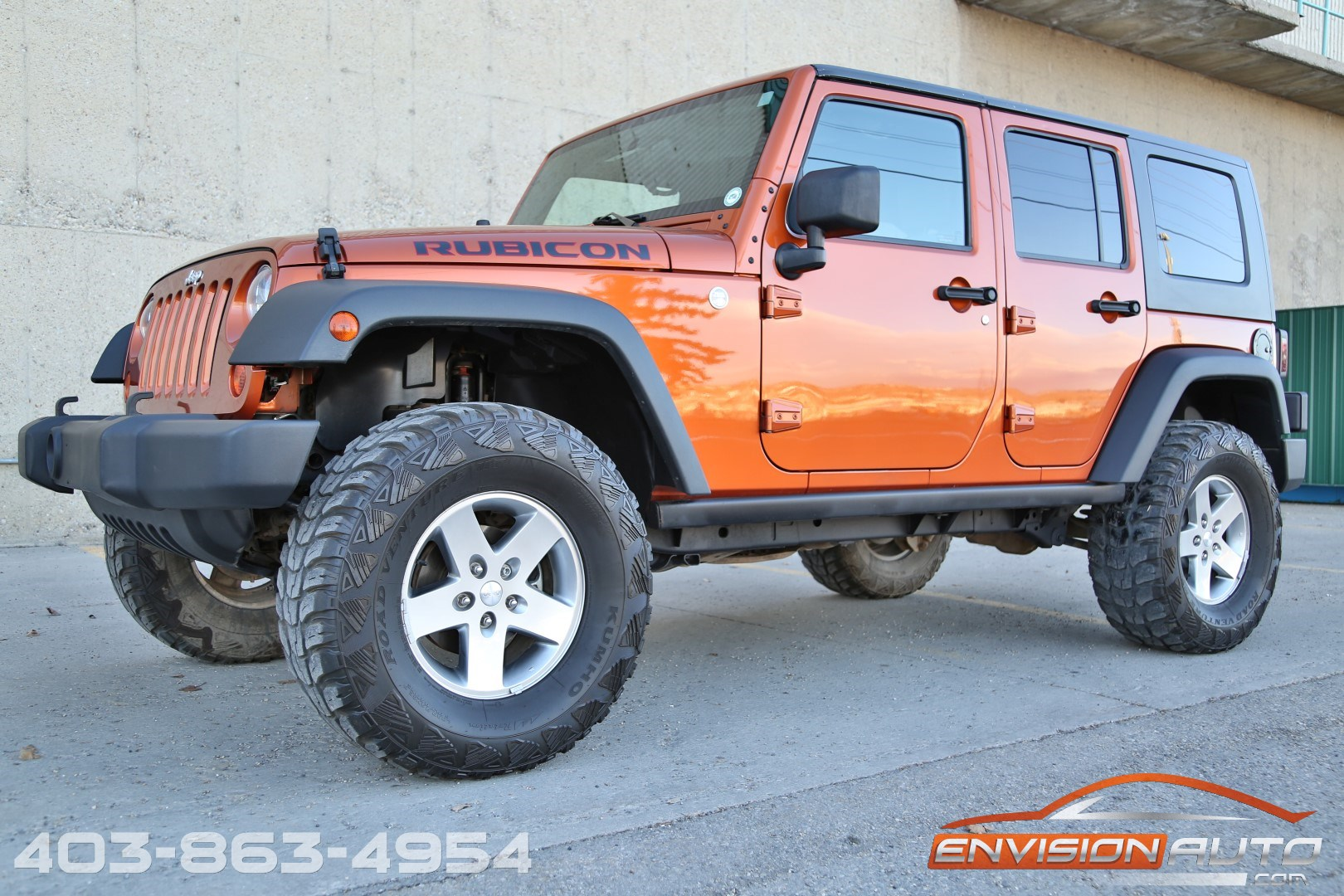 2010 Jeep Wrangler Unlimited Rubicon Summit Series