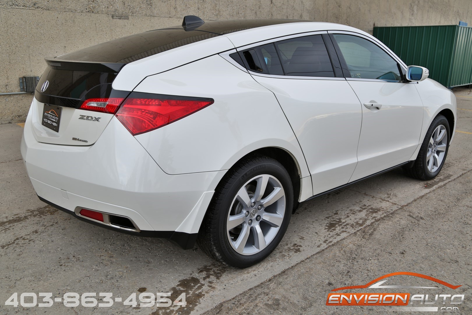 2010 acura zdx technology package