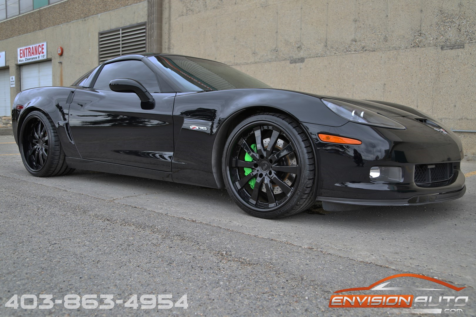 2007 Chevrolet Corvette Z06 505hp Custom Stereo