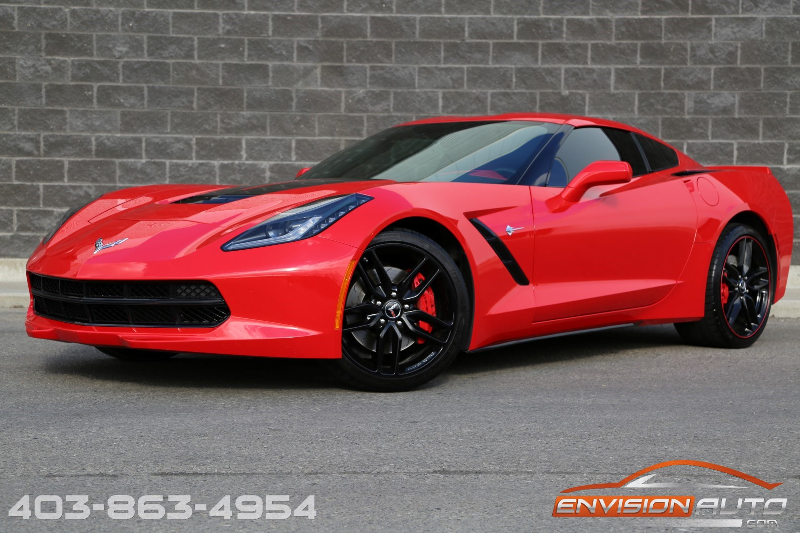 No Down Payment Auto Insurance >> 2014 Chevrolet Corvette Stingray – 3LT – Z51 – HUD – 7
