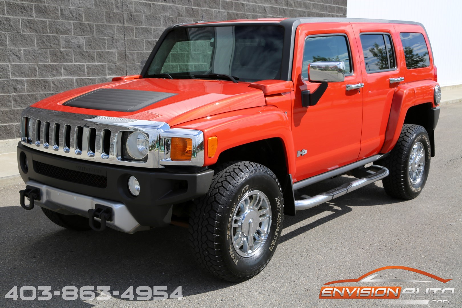 2008 H3 Hummer Alpha 5 3l V8 Luxury Package Envision Auto