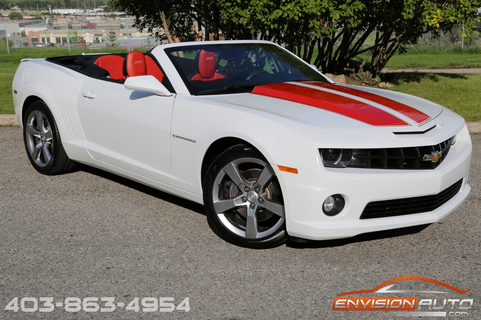 2011 Chevrolet Camaro Convertible 2ss Rs Only 13kms
