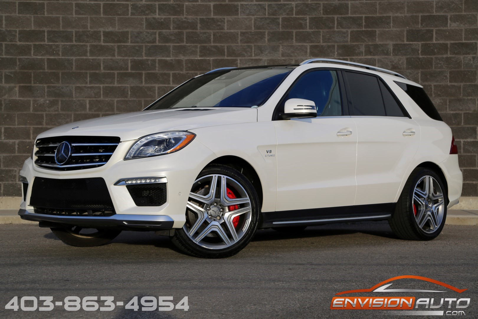 2013 Mercedes Benz Ml63 Amg Performance Designo Envision