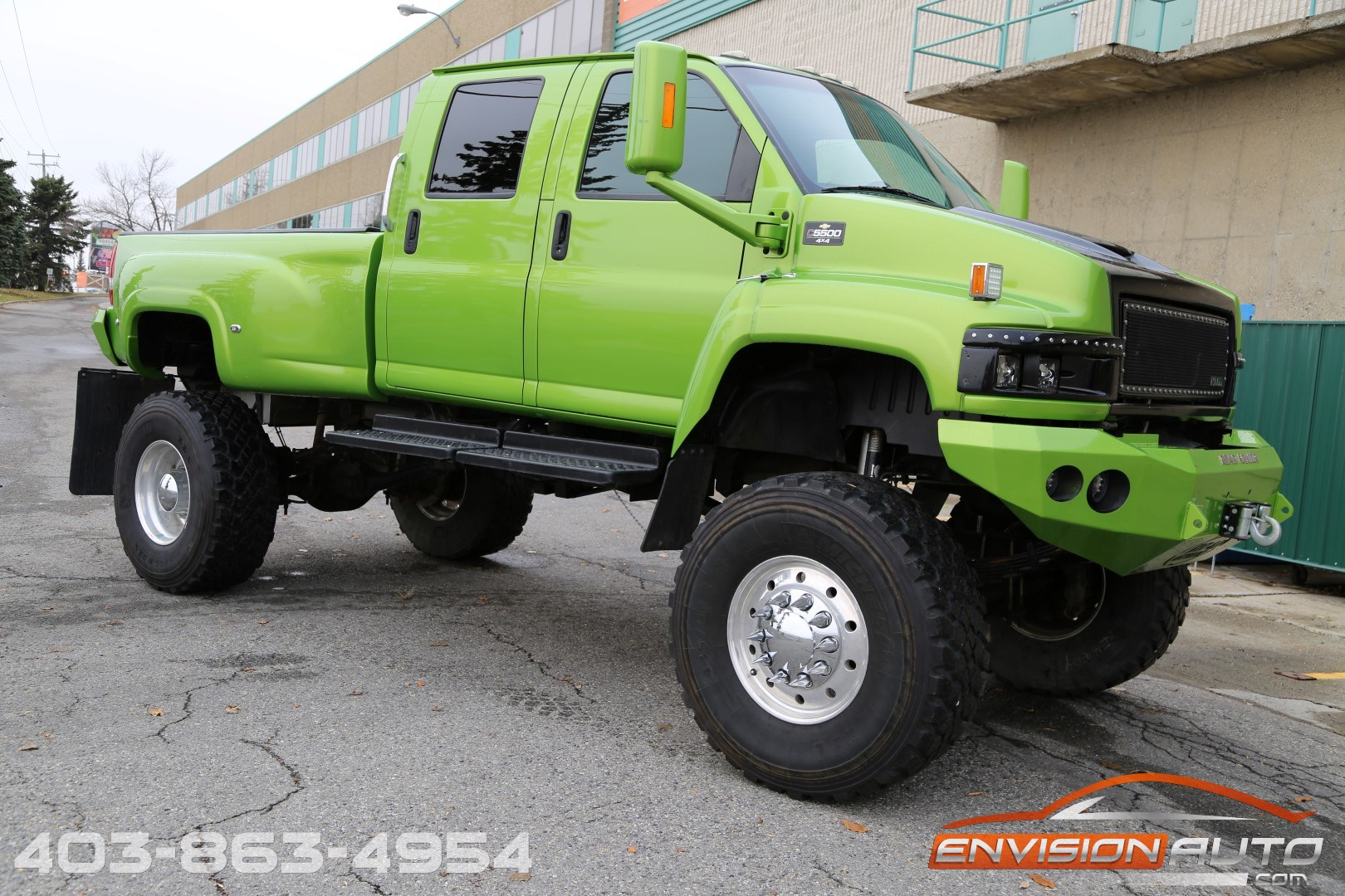 2006 Chevrolet C4500 Kodiak Topkick Sema Custom Lifted