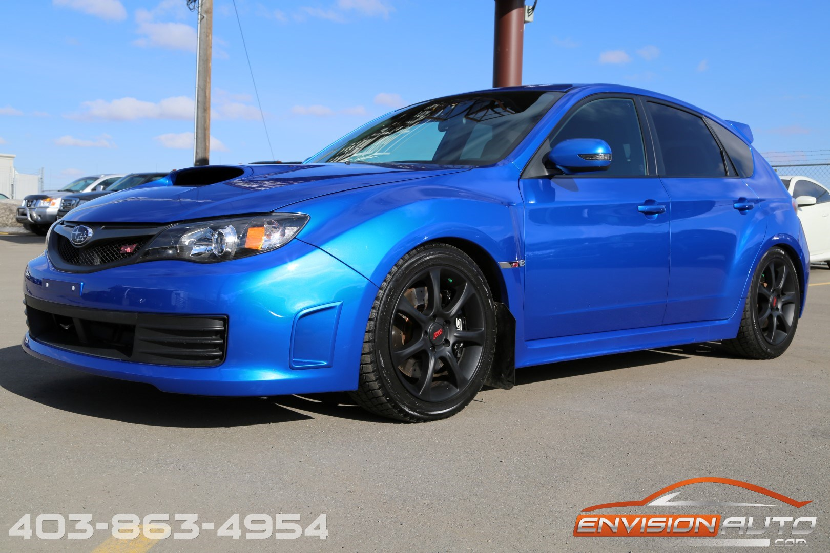 2010 Subaru Impreza Wrx Sti Custom Built Engine Only