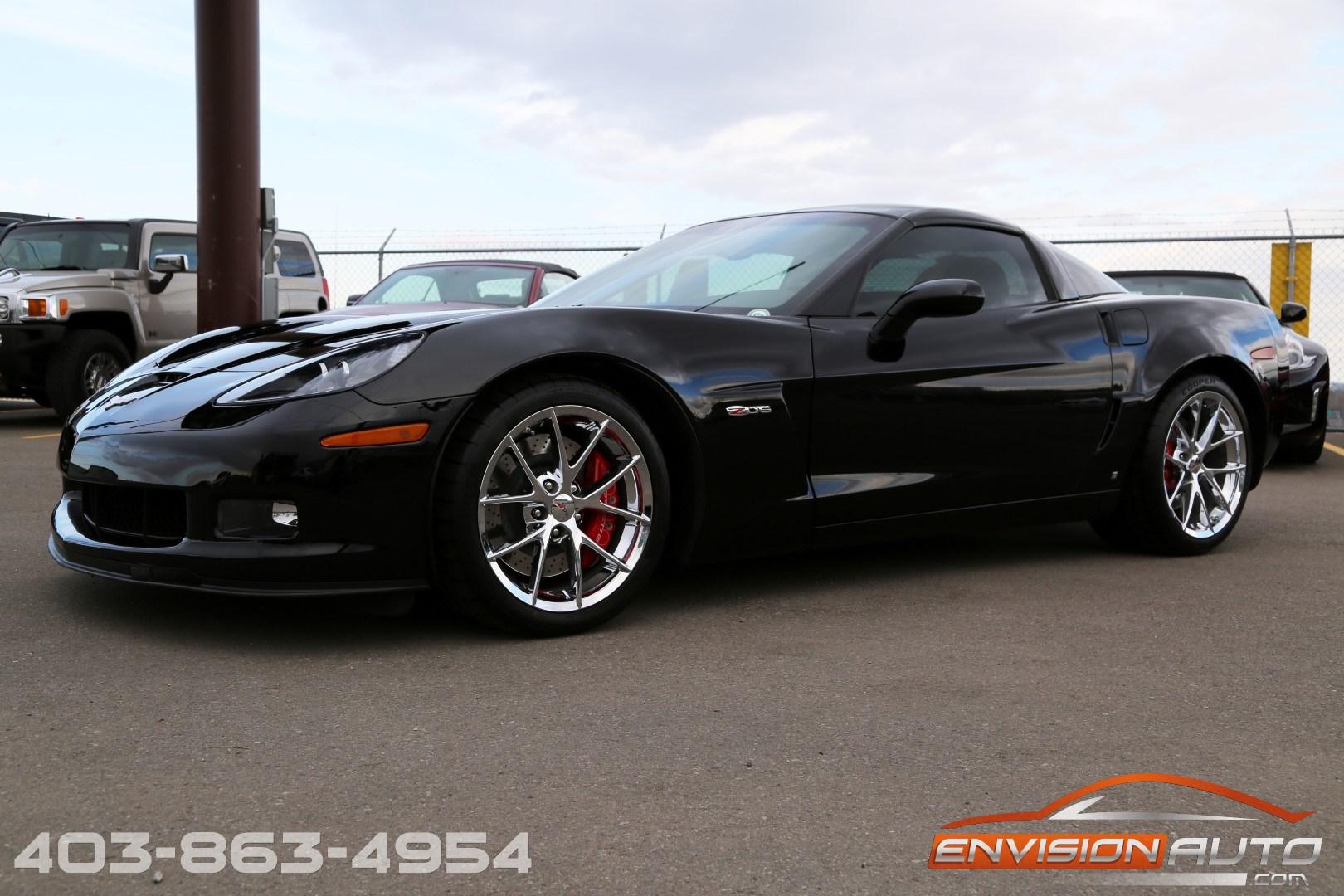 2009 Chevrolet Corvette Z06 3lz 505hp Only 21 800 Kms