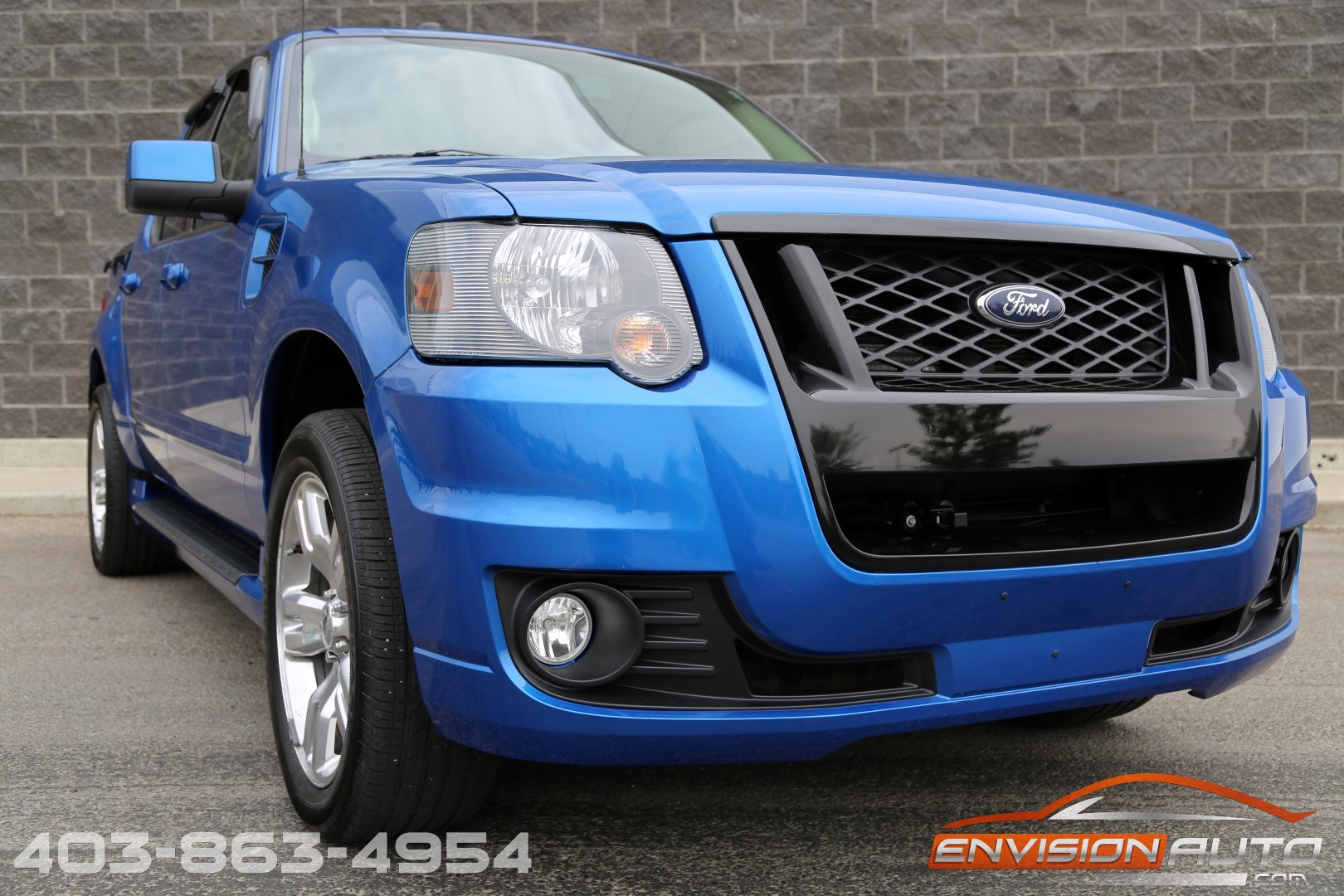 2010 Ford Sport Trac Adrenalin Awd One Owner Envision Auto