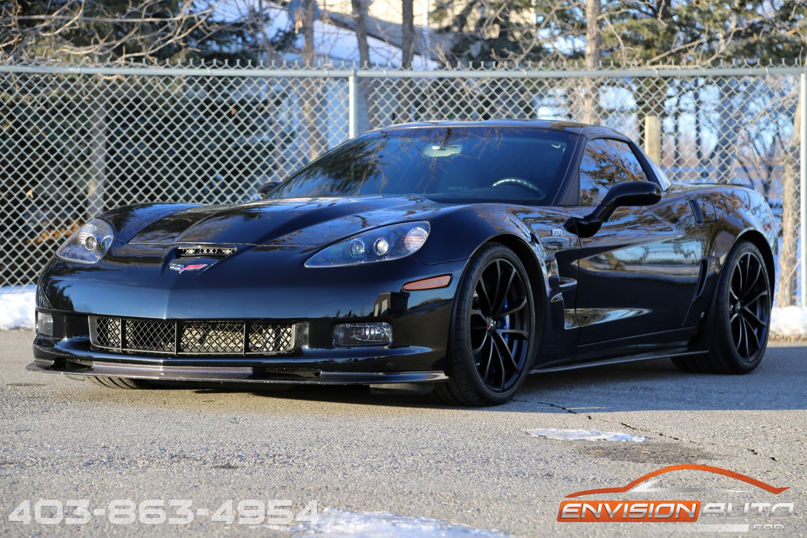 2009 Chevrolet Corvette Zr1 3zr Blacked Out Only 30 100