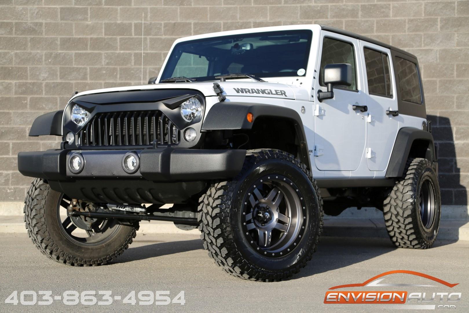 Jeep Big Bear >> 2017 Jeep Wrangler Unlimited Jk Big Bear Edition 4in